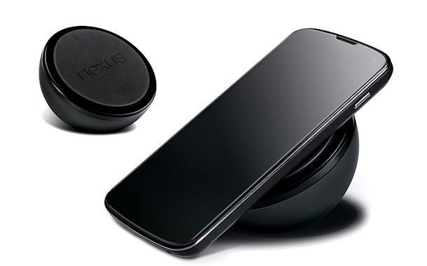 Ya está disponible el cargador inalámbrico del Nexus 4