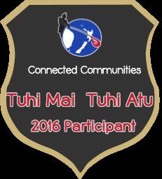 Tuhi Mai, Tuhi Atu Badge