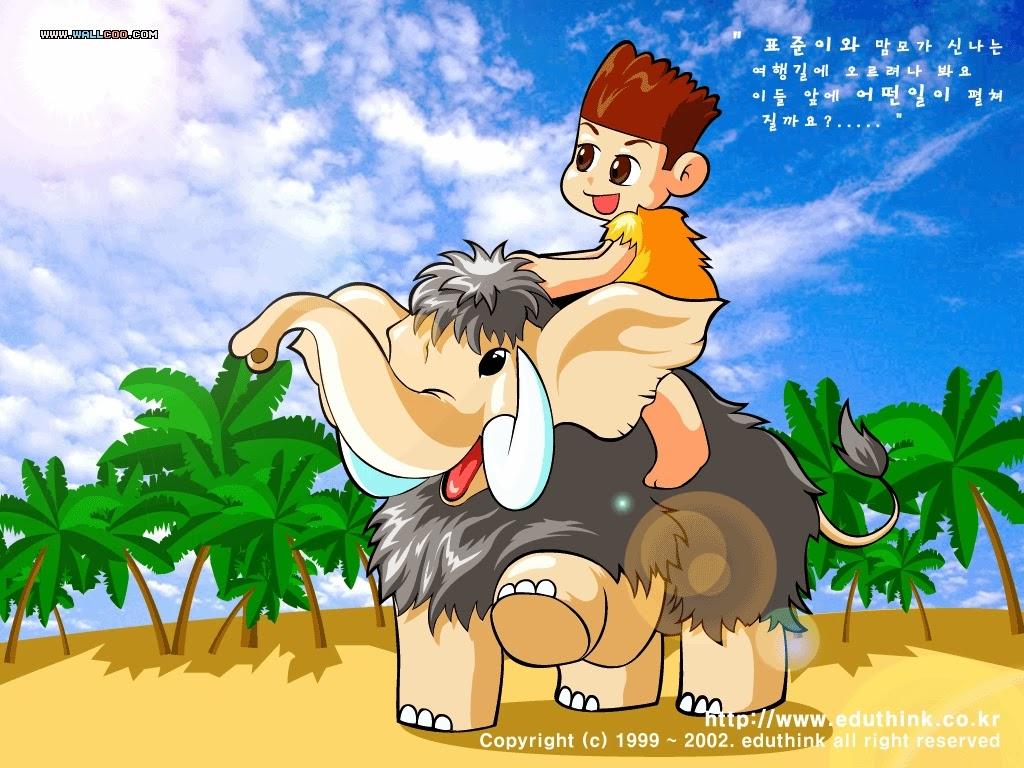 Cartoon illustration spring vector wallpaper viewillustrator