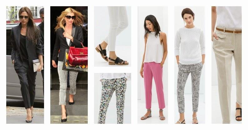 pantalones capri primavera verano 2014
