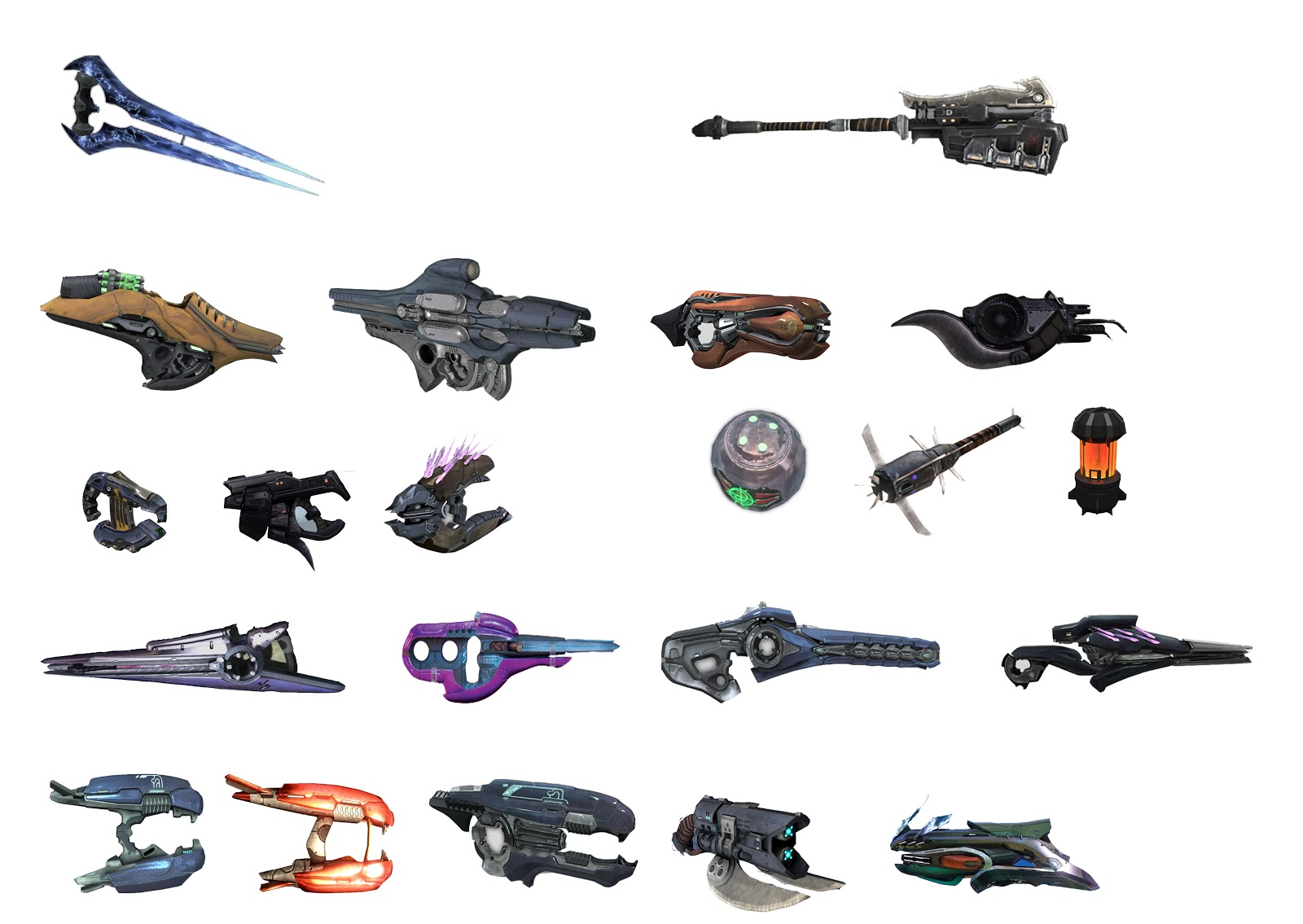 Halo 5 Covenant Weapons List