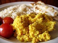 Curry de Okara (vegana)