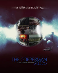 Afiche Presentación The Copperman 2032