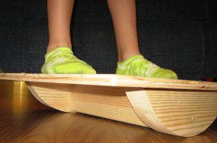 Membuat Balance Board dari kayu - Versi Anak dan Cewek
