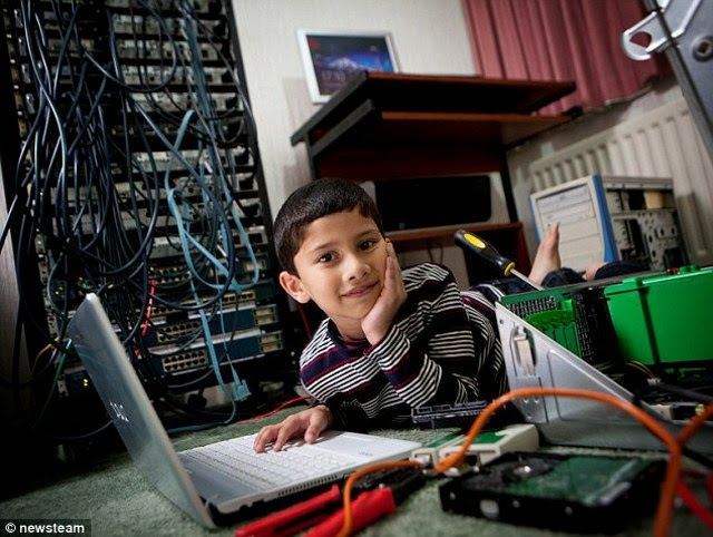 Ayan Qureshi Anak SD Ahlinya Microsoft