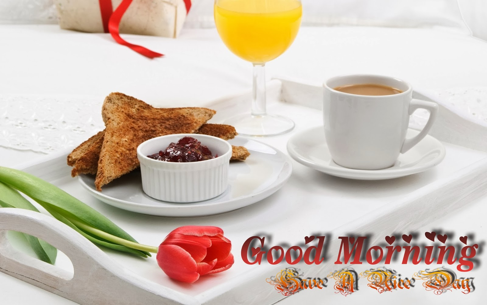 Good-Morning-Wishes-Wallpaper-With-Cup-Of-Tea-Image-HD-Wide