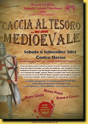 "Oratorio sing ""caccia al tesoro medievale"""