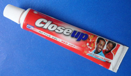 close up toothpaste wiki