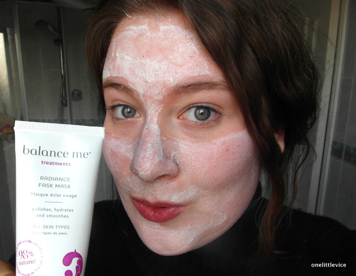 One Little Vice Beauty Blog: Natural Face Mask for radiant clear skin