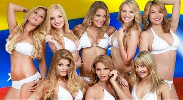 Chicas doradas de venezuela