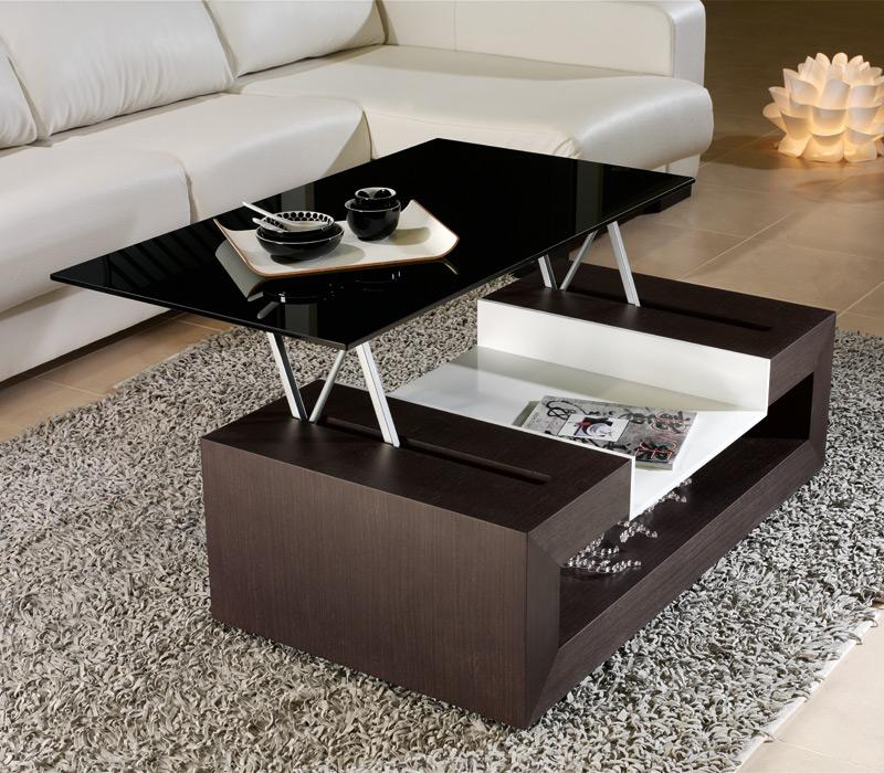 Tienda muebles modernos muebles de salon modernos salones - Mesas centro extensibles ...