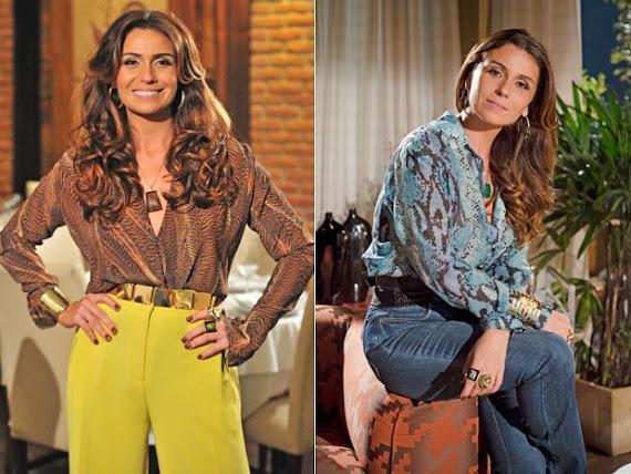 roupas Giovanna Antonelli Roupas e looks de Helô, de Salve Jorge