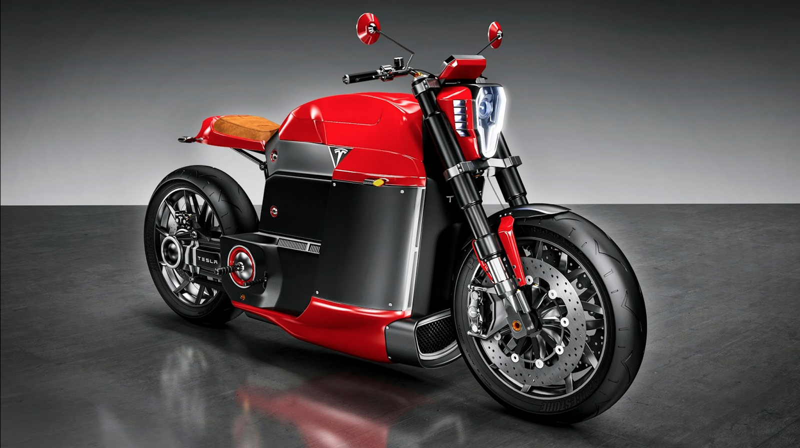 Tesla Model M Electric Motorcycle on NYDucati via Tigho 2