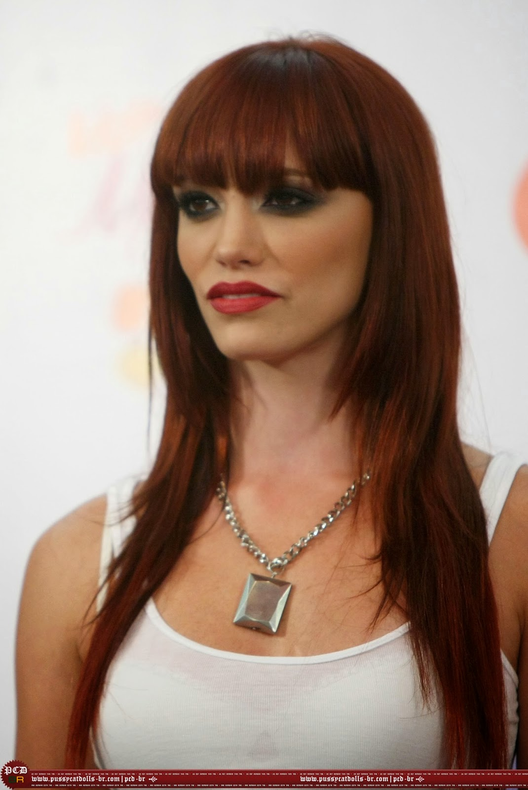 Jessica Sutta wearing a Jenny Dayco necklace