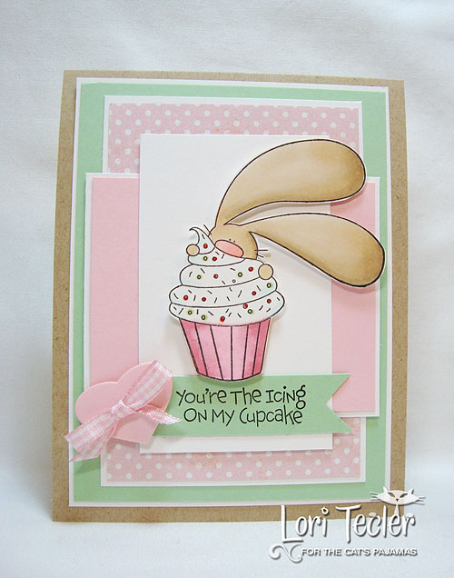 You're the Icing on my Cupcake-designed by Lori Tecler-Inking Aloud-stamps and dies from The Cat's Pajamas
