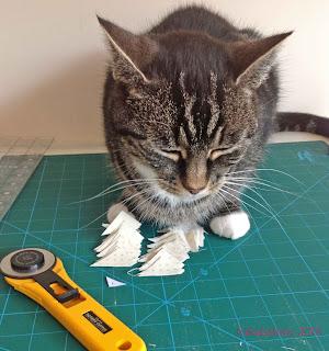 Suzi the Cat - My Nearly Insane Helper Cutting Mat