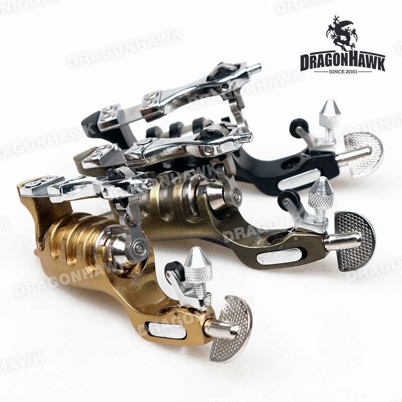 Tattoo supplies 1 pcs new design rotary tattoo machine for Difference between shader and liner tattoo machine