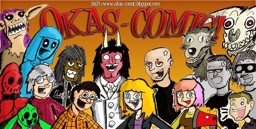 Okas-Comic | ¡Tú Blogcomic off-topic paranoico preferido!