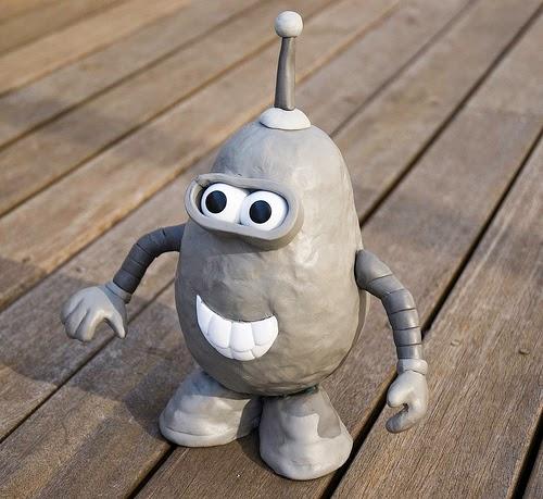 Mr. Potato versión Bender