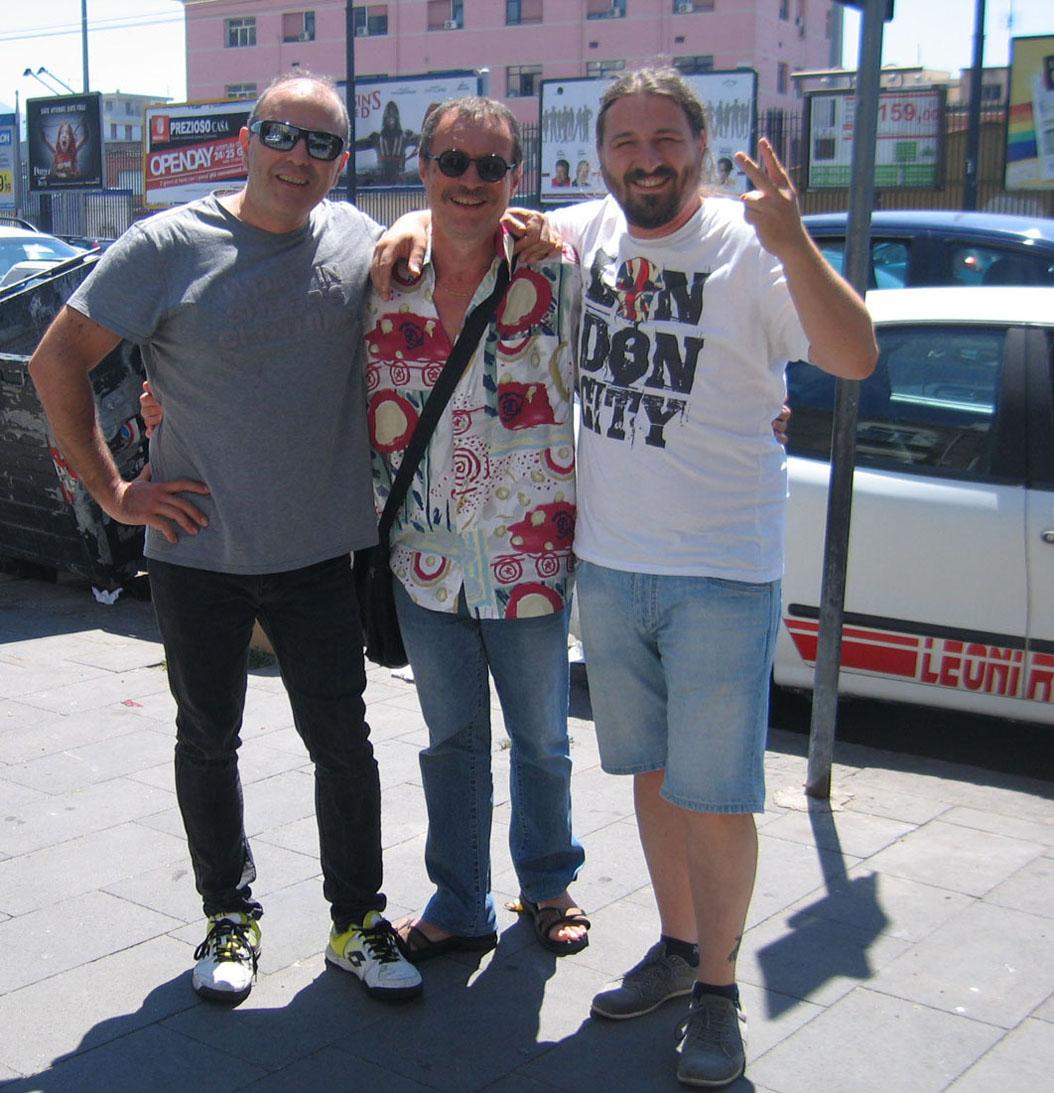 FLAVIANO OLIVIERO, io, ed ENRICO  LA  MANNA.