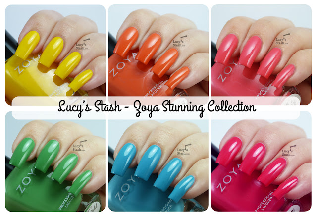 Lucy's Stash - Zoya Stunning Collection for Summer 2013