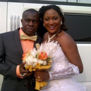 Actress Uche Elendu's Husband, Prince Nku