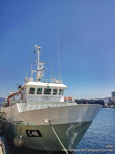 fotos de barcos, imagenes de barcos, dunboy, arrastrero, pesquero
