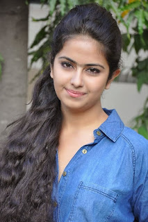 Acress Avika Gor Pictures in Pink Tight Jeans at Uyyala Jampala Movie Press Meet 0004.jpg