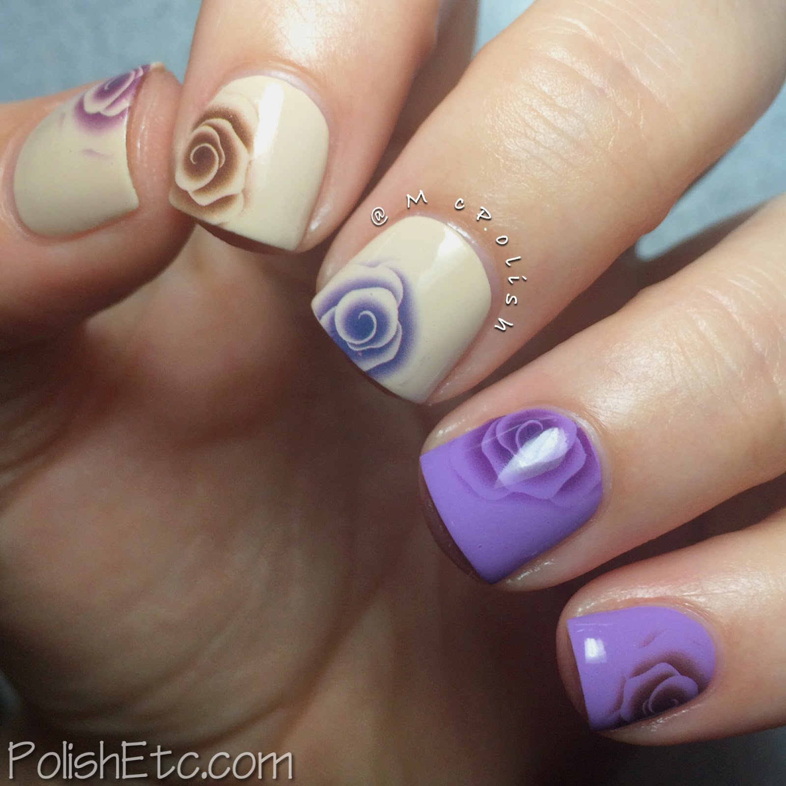 31 Day Nail Art Challenge - #31dc2014 - McPolish - FLOWERS