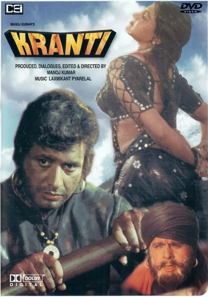 Kranti 1981 DVDRip 1.45GB Eng Arabic Sub For Hema Malini ...