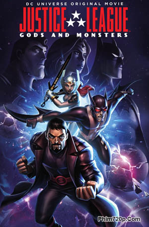 Justice League: Gods and Monsters 2015 poster