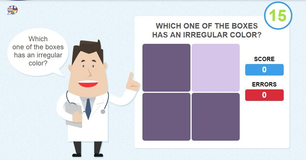 Eye Test - Online Games To Check Your Color Vision