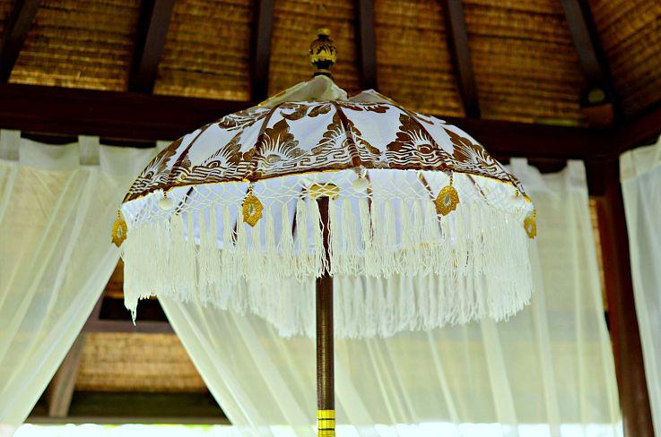 Balinese Umbrella, Bali, Indonesia, Legian Beach Hotel