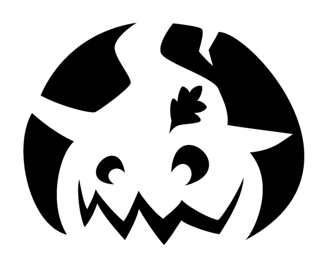Epic image within printable halloween stencils