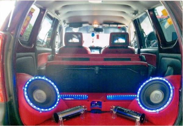 Modifikasi Daihatsu Xenia Audio Terbaru