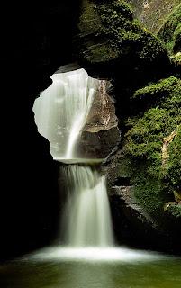 St Nectan's Glen Waterfalls Cornwall UK,air terjun nectan uk