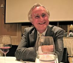 Richard Dawkins drinking