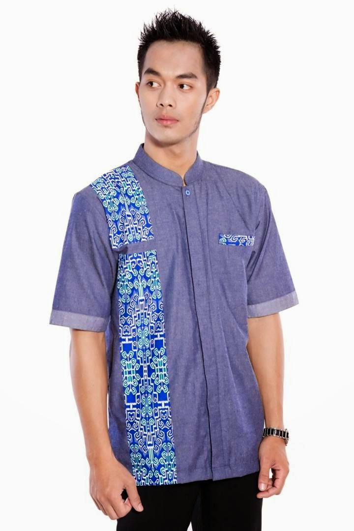 baju batik modern pria