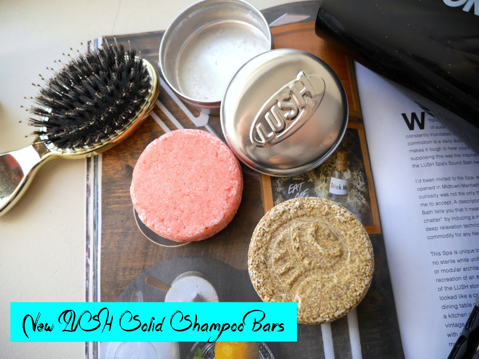 lush lullaby copperhead solid shampoo review