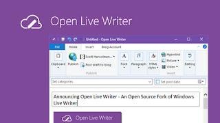 novo editor blogger, novo writer, writer não funciona, novo open live writer