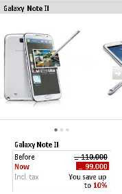 Jumia Mobile Item page