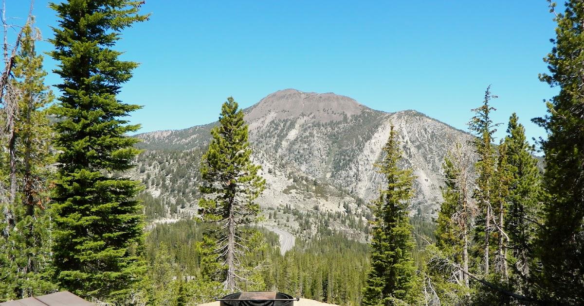Sierra Nevada Camping Mt Rose Campground Nv