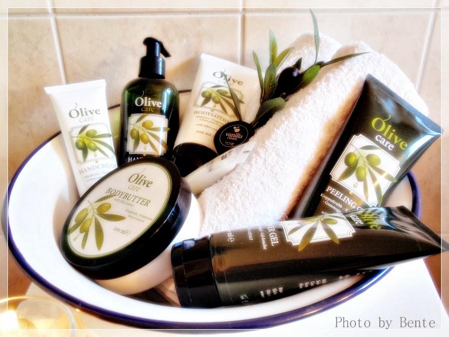 Her kan dere lese om min produkt testing av Nille sin velvære serie OLIVE CARE i november 2012