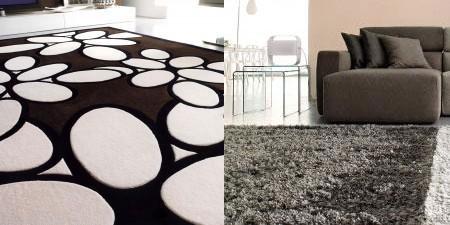 Salas con alfombras ideas para decorar dise ar y for Alfombras de sala modernas