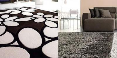 decorar salas con alfombras