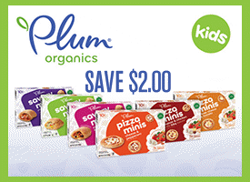 Plum Organics – $2.00 Off Coupon