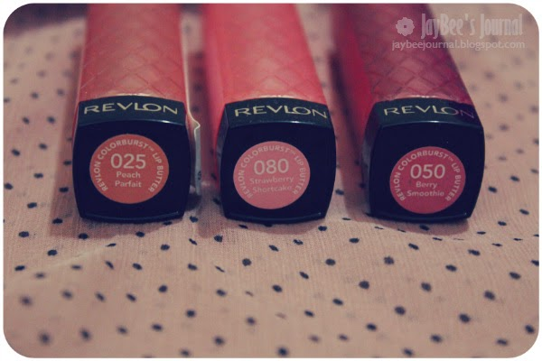 Revlon Strawberry Shortcake, Peach Parfait & Berry Smoothie Lip Butters Swatches Review Pakistan, Pakistani Beauty and Nail art blog