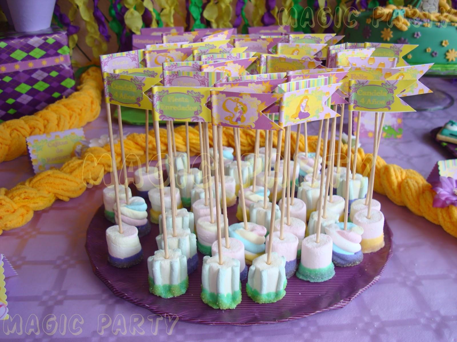 Decoraciones de fiesta de rapunzel imagui - Decoracion party ...