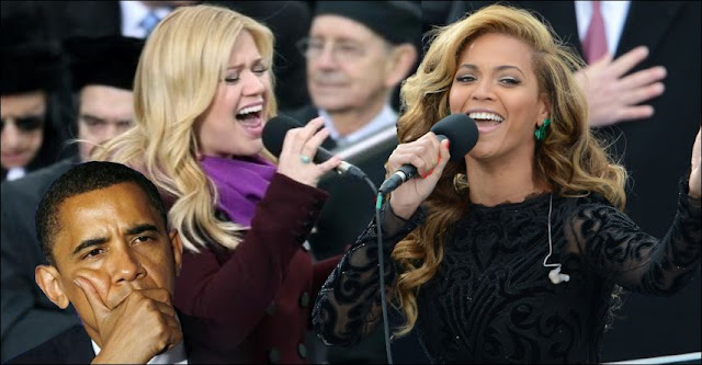 Beyonce Lip-sync or Kelly Clarkson Live: Who will Obama Choose?