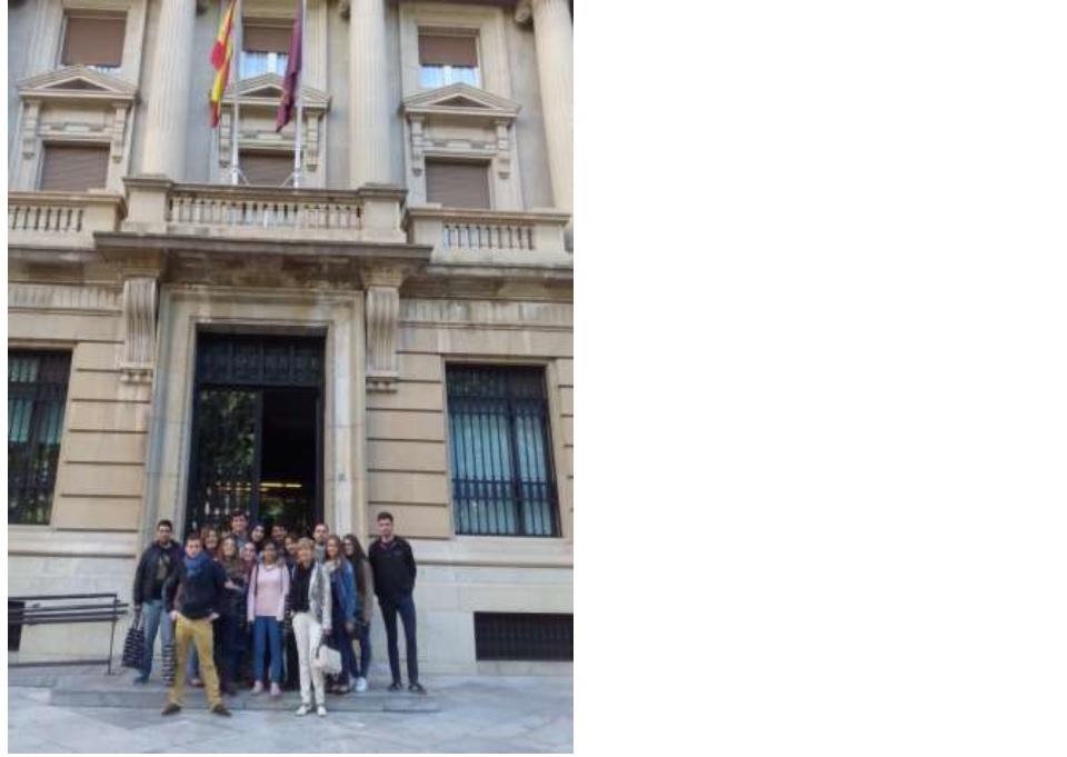 Ies la flota los alumnos de 2 de gesti n administrativa for Oficina central correos madrid